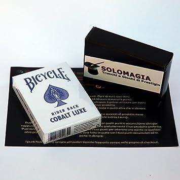 Bicycle - MetalLuxe Cobalt - Tarjeta Juegos - Trucos Magia y ...