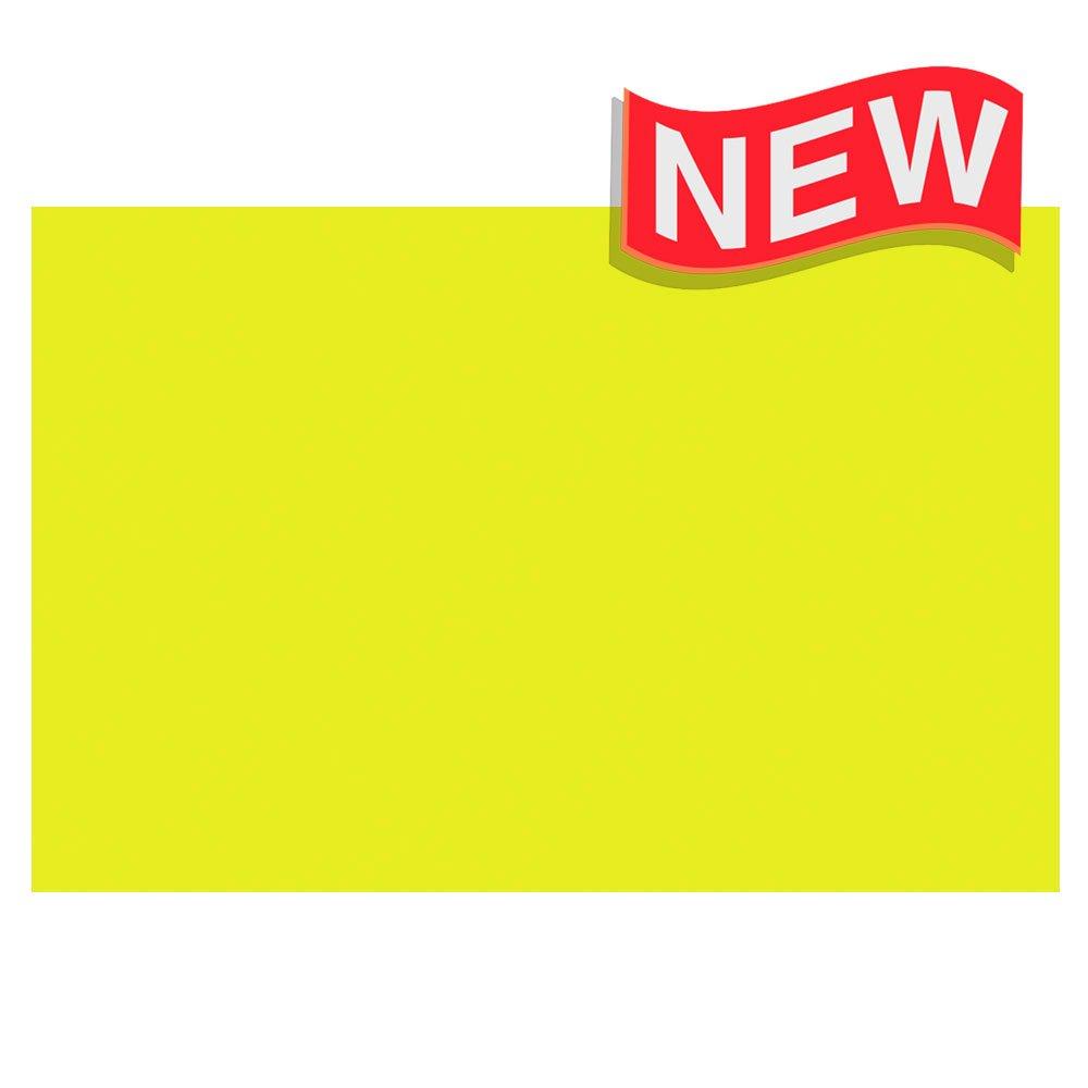 BAZIC 20'' X 30'' Fluorescent Yellow Foam Board, Case of 25