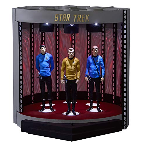 Hallmark Keepsake Christmas Ornament 2019 Year Dated Star Trek The Transporter Tabletop Decoration with Light and Sound (For 2019 Decorations Christmas Table)