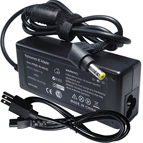 Laptop Ac Adapter Charger Power Cord Supply for HP Office...