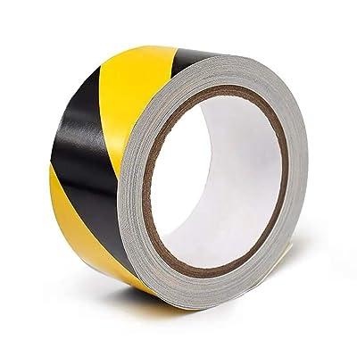 "PerfecTech Reflective Tape 2"" x 150' Traffic Reflective Safety Warning Tape Stickers Stripe Waterproof (Black-Orange): Automotive"