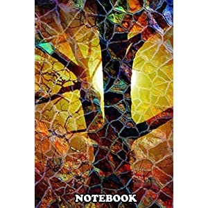 """Notebook: Abstract Glass Mosaic Tree , Journal for Writing, College Ruled Size 6"""" x 9"""", 110 Pages"""