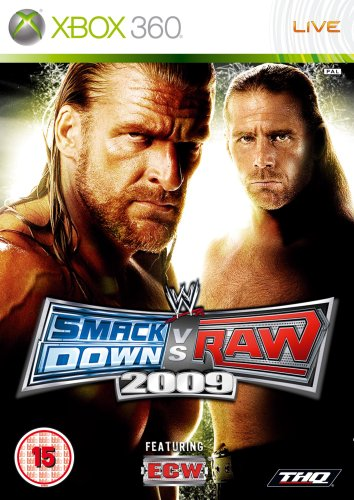 WWE Smackdown vs. Raw 2009 (Xbox - Game 2009 Wwe