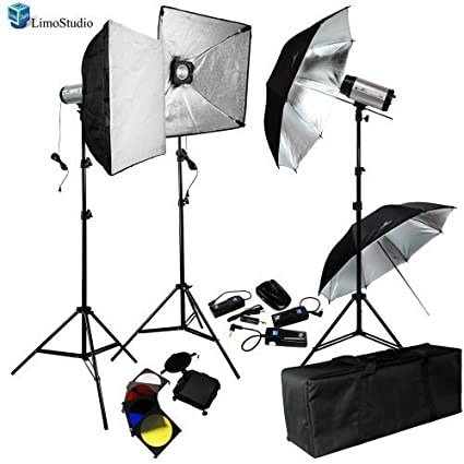 LimoStudio 750W (250W x 3) Professional Photography Studio Flash Strobe Light Lighting Kit Equipment  sc 1 st  Amazon.com & Amazon.com : LimoStudio 750W (250W x 3) Professional Photography ...