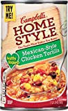 Campbell's Homestyle Healthy Request Mexican-Style Chicken Tortilla Soup delivers the delicious southwest taste you crave in low-in-fat spoonfuls. Packed with ingredients found in kitchens south of the border—including high-quality chicken, c...