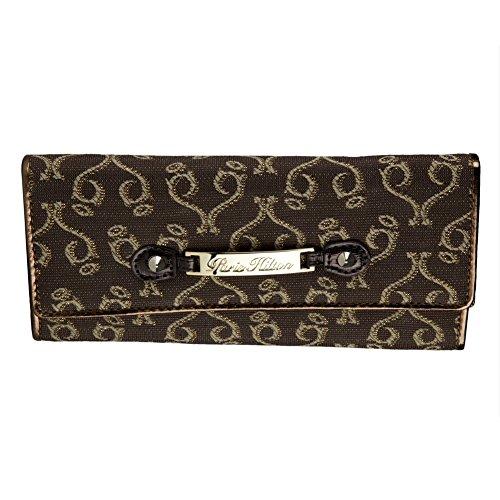 Paris Hilton Handbags - Desire Brown Wallet 3.75 x 7.25