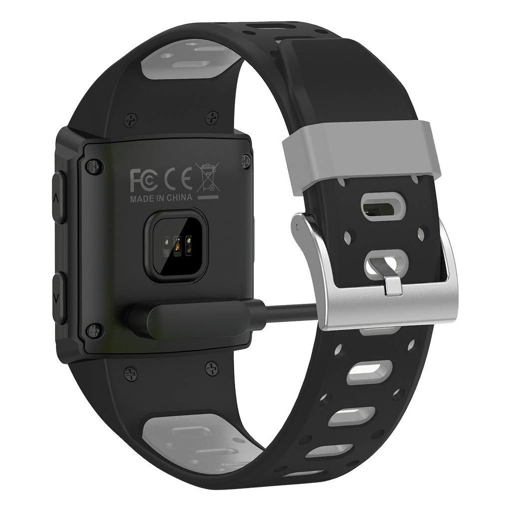 YNAA for iOS Android, Waterproof Sport Smart Watch, Smart Bracelet Blood Pressure Heart Rate Monitoring Tracker GPS Watch (Gray) by YNAA (Image #3)