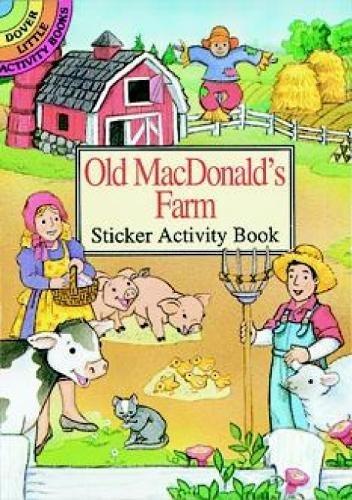 Dover Publications-Old MacDonald's Farm Sticker Activ (Dover Little Activity Books Stickers)