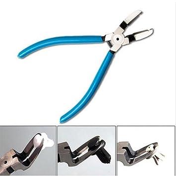 Dailyinshop Remaches Abrazadera de la Abrazadera de extracción Alicate Recorte de Clip de Acero al Carbono Herramientas de reparación de automóviles (Color: ...