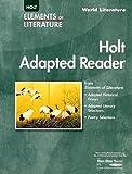 Holt Adapted Reader: World Literature, RINEHART AND WINSTON HOLT, 0030387469