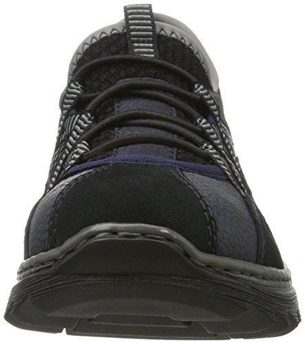 Kombi Sneakers EU Femme Basses M6251 Rieker 36 Blau RwXvfq