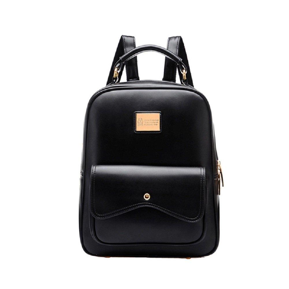 Urmiss(TM) Korean Fashion Leather Women Small Ladies Backpack College Girls School Bag