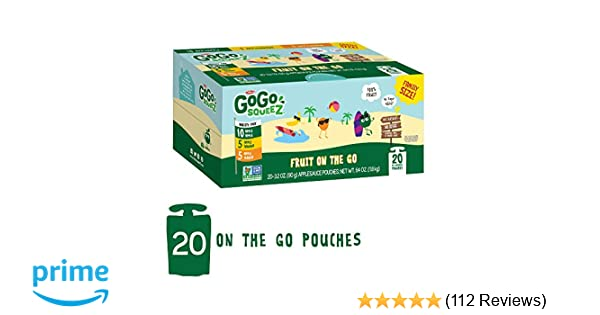 Gogo Squeez Applesauce On The Go Variety Pack Apple Apple Apple