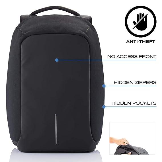 a9925f6e13d7 XD Design Bobby Original Anti-Theft Laptop Backpack: Amazon.co.uk: Camera &  Photo