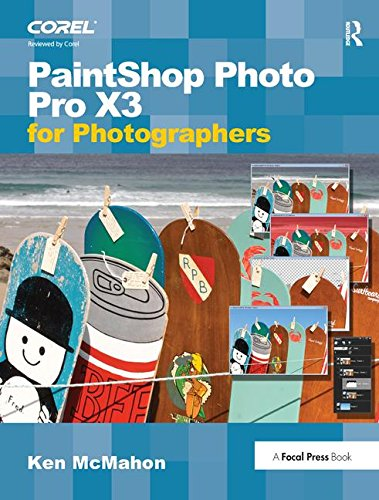 PaintShop Photo Pro X3 For Photographers-cover