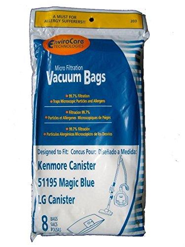 Amazon.com: Kenmore 51195 - Bolsas de vacío para LG (8 ...