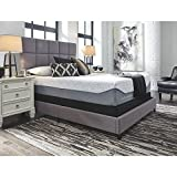 Ashley Furniture Signature Design - Sierra Sleep - Loft & Madison 13 in Thick Firm Mattress - Traditional Foam Queen Size Mattress - White
