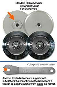 HANS Device Post Collar Anchor Helmet Attachment, Standard, for SA Helmets