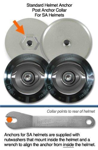 HANS Device Post Collar Anchor Helmet Attachment, Standard, for SA Helmets by HANS Device