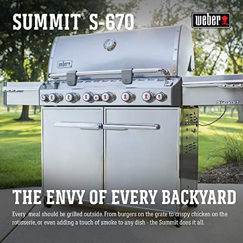 (Weber Summit S-670 LP Gas Grill, 7370001)