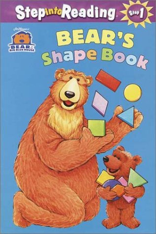 Bear in the Big Blue House: Bear's Shape Book (Step into Reading, Step 1, paper) PDF