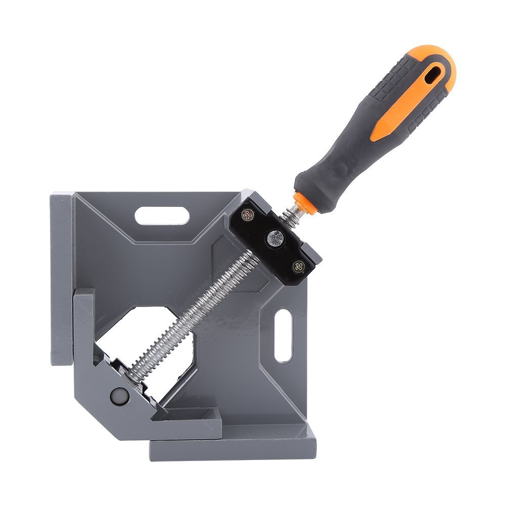 Heavy Duty TwoAxis 90 Degree Corner Right Angle Clamp Vise For Woodworking Single Handle Yosoo