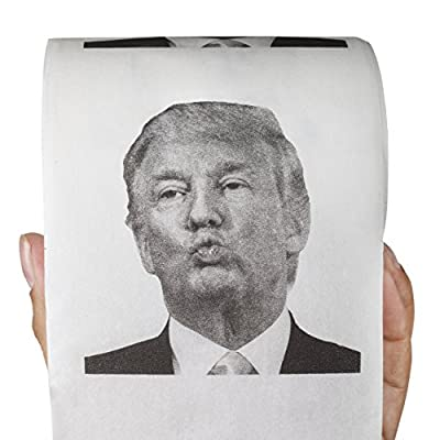 Donald Trump Toilet Paper + FREE Donald Trump PDF Calendar - 2 GIFTS in 1!