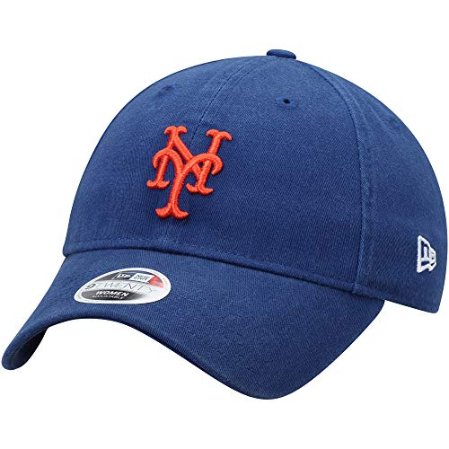 New York Mets Women's Core Classic Twill Team Color 9TWENTY Adjustable Hat]()