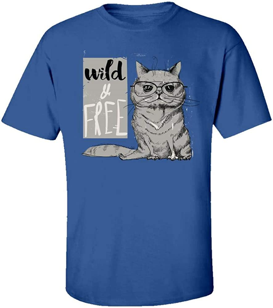 Kids T-Shirt Wild and Free Beautiful Creative Design