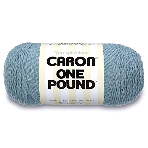Paintbox Fabric (Caron  One Pound Solids Yarn - (4) Medium Gauge 100% Acrylic - 16 oz -  Azure- For Crochet, Knitting & Crafting)