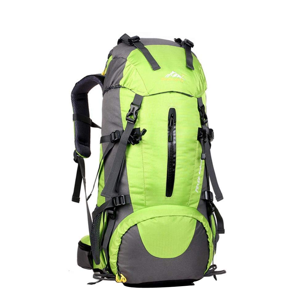Waterproof 50L Lightweight Sports Backpack, Large Capacity Travel Rucksack, Portable Durable Travel Hiking Camping Outdoor Daypack for Women Men by Excursion Sports