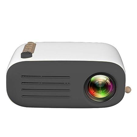 ZKKK Mini Proyector, Videoproyector LED Compatible con 1080P ...