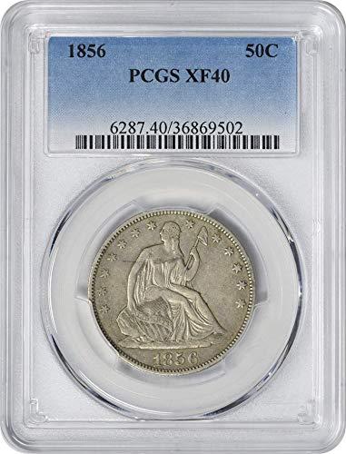 1856 Liberty Seated Arrows Half Dollar EF40 PCGS ()