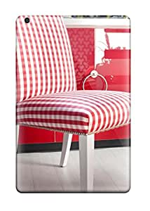 morgan oathout's Shop Best 6526772J96608479 For Ipad Mini 2 Protector Case Red Gingham Chair Red Cabinet 038 White Wood Floor In Boy8217s Room Phone Cover