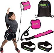 CRUSH iT SPORTS Volleyball Training Equipment Aid - Practice your Serving, Spiking, Setting & Arm Swing, S