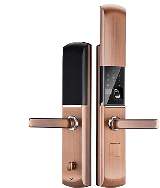 Cerradura de huella digital Cerradura de puerta inteligente ...