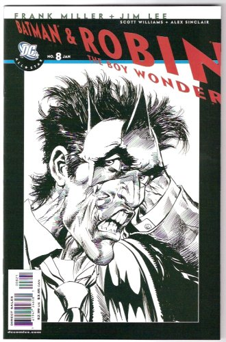 Batman & Robin The Boy Wonder #8 Variant Cover Comic pdf epub