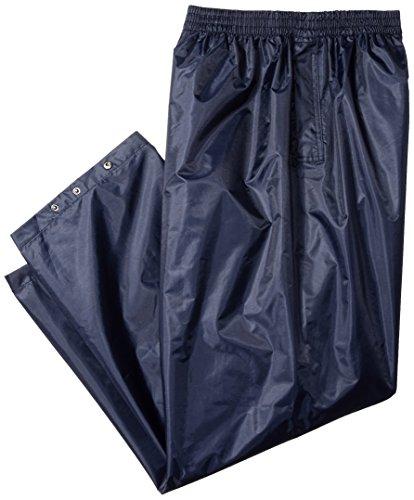 Portwest S441 Rainwear Men's Waterproof Rain Pants, 4X-Large, Navy by Portwest