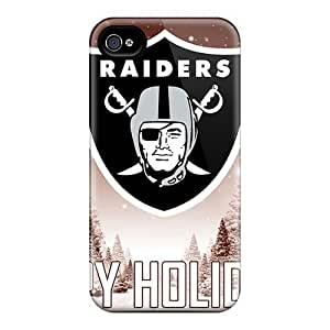 Iphone 4s Qhe4s444sQcgq Custom Trendy Oakland Raiders Image Protector Hard Phone Cases -JamieBratt