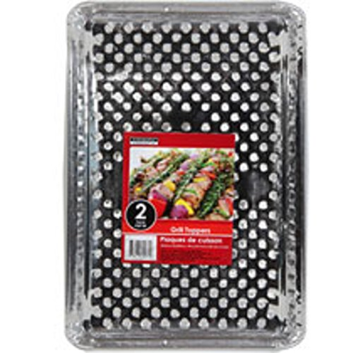 Disposable Grill Topper Trays 2 ct