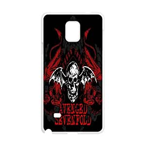 Printed Phone Case Avenged Sevenfold For Samsung Galaxy Note 4 N9100 M2X3112681