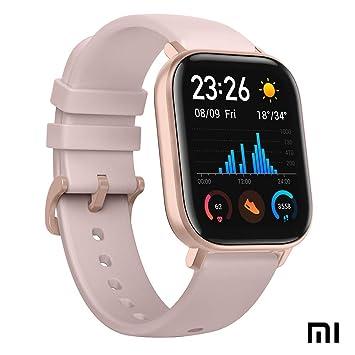 Xiaomi Amazfit GTS Reloj Smartwactch Deportivo | 14 días Batería | GPS+Glonass | Sensor Seguimiento Biológico BioTracker™ PPG | Frecuencia Cardíaca | ...