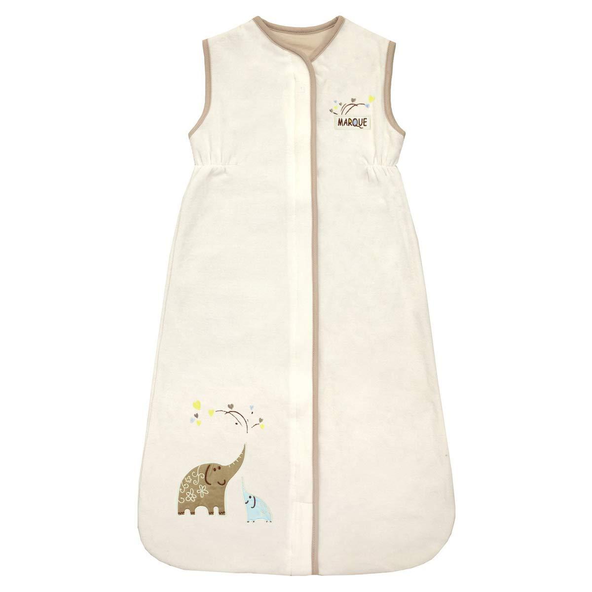 Baby Sleep Nest Wearable Blanket Sleep Sack 100/% Cotton Sleeping Bag 2.5 Tog Elephant for Girl /& boy