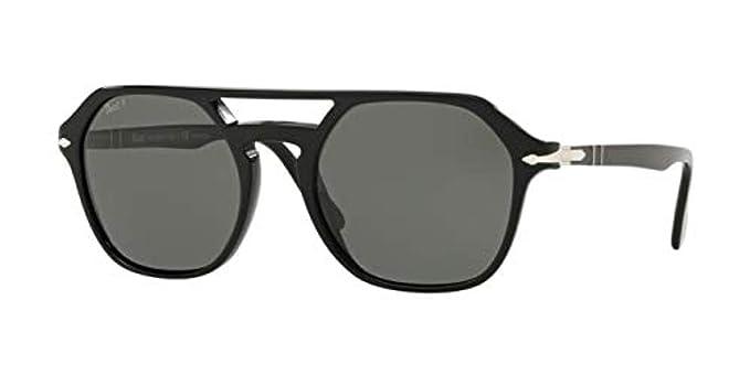 Persol 0PO3206S Gafas de sol, Mariposa, 51, Terra Di Siena ...
