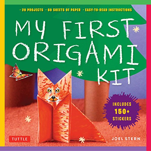 My First Origami Kit: [Origami Kit with Book, 60 Papers, 150 Stickers, 20 Projects] -