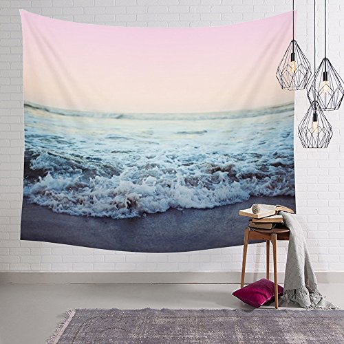 Arfbear Ocean tapestry, beach Wall Tapestry with Art t