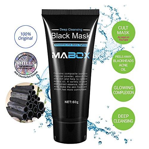 Blackhead Remover Mask,Blackhead Peel Off Mask Black Mud Face Mask  Blackhead Cleansing Mask Cleaner Face Mask-Deep Clean Blackhead Blackhead  Killer