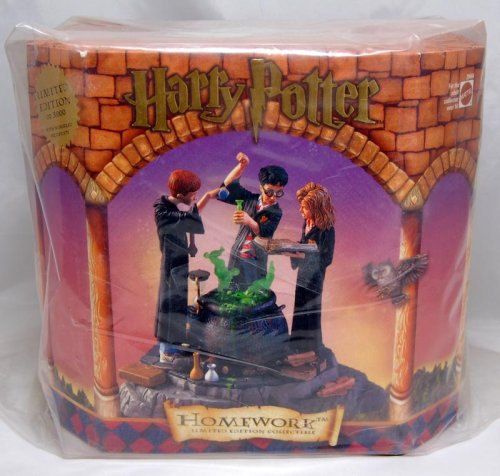 (Harry Potter Homework - Limited Edition Figurine Statue Only 5000 Made )