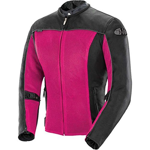 - Joe Rocket Velocity Women's Mesh Street Motorcycle Jacket - Pink/Black/Medium