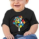 Kim Lennon Rubiks Melting Cube Custom Kid Soft T-shirt Black Size 12 Months